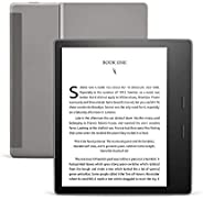 All-New Kindle Oasis (10th gen) - 7 Inch High-Resolution Display, Waterproof, 8 GB, Wi-Fi, Graphite