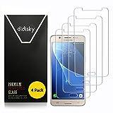 Didisky Verre Trempé pour Samsung Galaxy J5 2016, [4 Pièces] Film Protection écran...