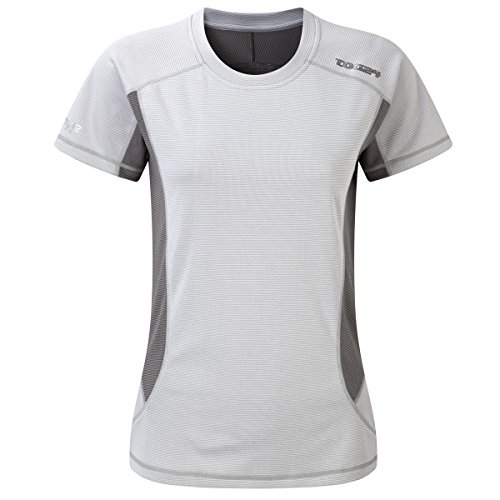 TOG 24–Cairn Mujer TCZ bambú camiseta–blanco–hembra, Mujer, color blanco, tamaño 38