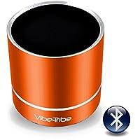 Vibe-Tribe Troll Plus - Tango Orange: 12 Watt Bluetooth Vibration Speaker, vivavoce, suction base integrata