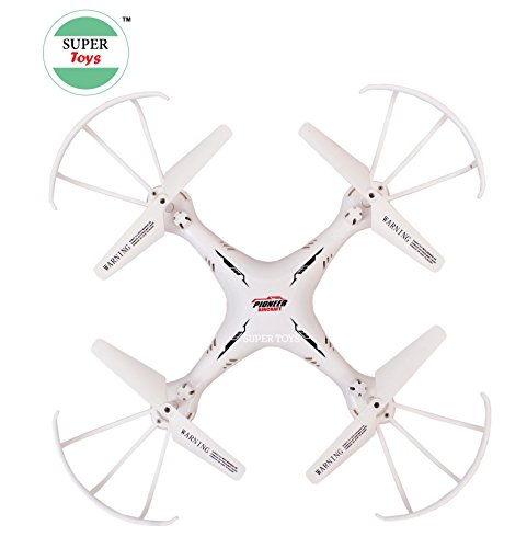 TALREJA ENTERPRISES Smcd Plastic Toys Pioneer Drone with USB Charger and RC without Camera (White)