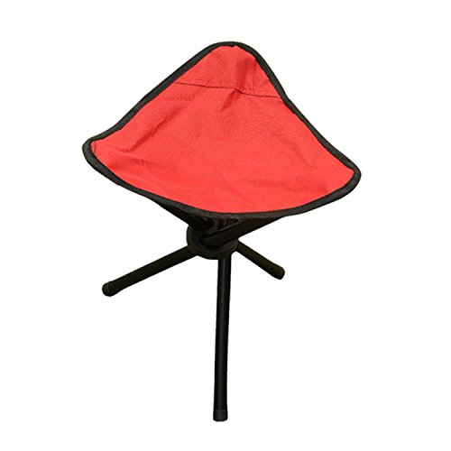WAYMX Chaises de pêche en Plein air de Toile Loisirs Triangle Tabouret Chaise Pliante Portable tabourets Charge 100kg