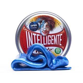 Intelligente Knete - SAPHIR - Edelsteine - Thinking Putty