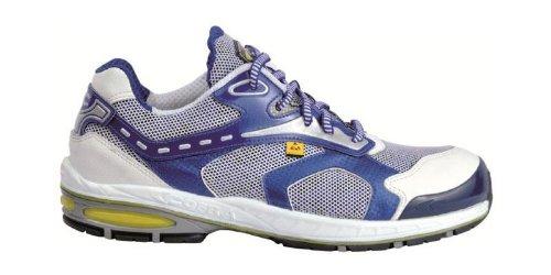Cofra scarpe di sicurezza Fore Check S1P New Jogging 19090–001, traspiranti, Blu, Blu, 19090-001