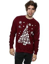 Star Wars Herren Christmas Tree Sweatshirt