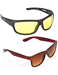 0c5a8122fd Royal Wood Glasses Day and Night Fishing Outdoor Anti Glare Unisex  Sunglasses (NCK 253