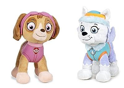 Patrulla Canina (paw Patrol) - Peluche Personaje Everest, Cachorro Husky Experta En MontaÑas (26cm De Pie) Calidad Super Soft - Color Azul Claro - de PLAY BY PLAY