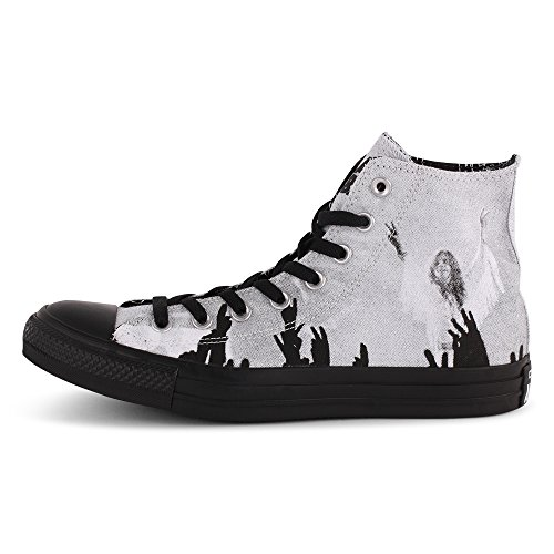Converse AS CT HI x Black Sabbath White Weiß