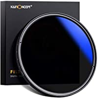 K&F Concept 77mm Filtro ND Variable ND2~ND400 para Objetivo 77mm con Funda (9 Pasos)