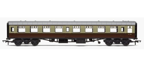 Hornby Railroad R4630 00 Gauge Br Mk1 Tourist Second Open Coach