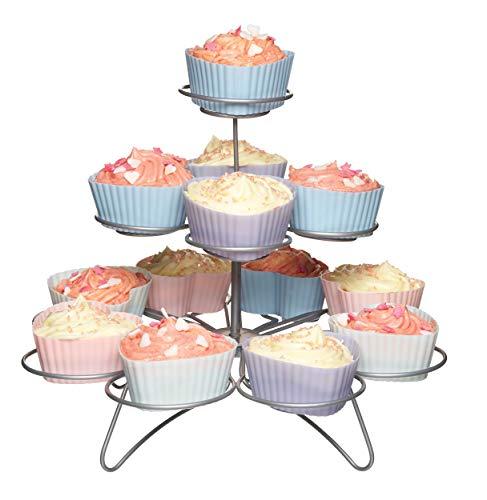 Kitchen Craft M128689 - Expositor Cupcakes 3 Niveles