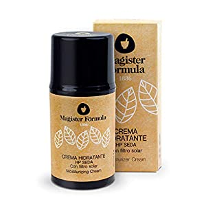 Crema Hidratante Facial HP Seda 50 ml | Seda Natural | Antiedad, Antimanchas y Antiarrugas | Vitamina E | Para piel…