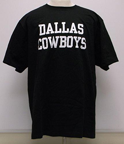 NFL Dallas Cowboys Herren-T-Shirt, kurzärmelig, Jungen, DCM Coaches Mens SS, schwarz, X-Large
