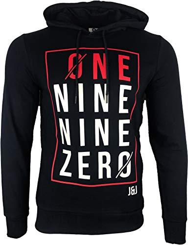 JACK & JONES Herren Kapuzenpullover Hoodie Core Storm Sweatshirt Sweat Linn Hood 2018 S M L XL XXL (L, 16 Dunkelblau)