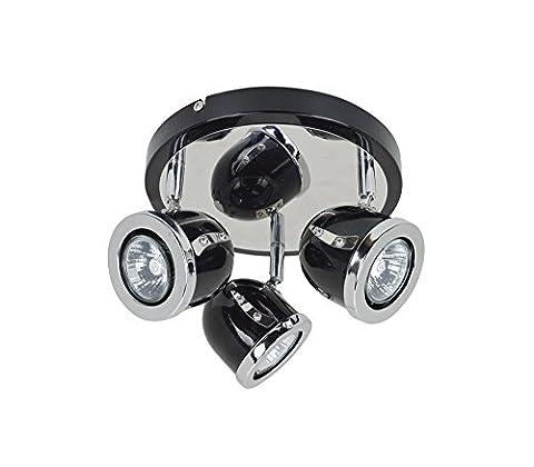 3 x 35 W Plate Spotlight (105 W) - halogene