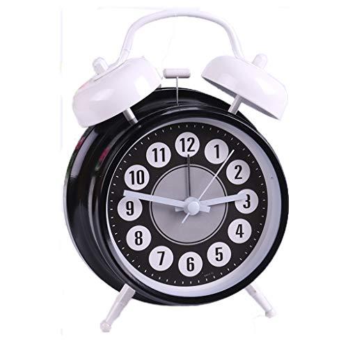 Telefon-Digital-Bild-Wecker-Karikatur-Abbildung Snooze-stilles faules Nachtlicht-Doppelglocke-moderne Art- und Weiseeinfaches Bett-schönes Haus-kreativer Persönlichkeits-multi Farbe wahlweise freigest