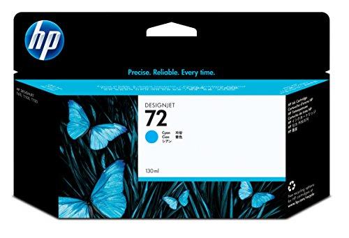 HP 72 Cartouche d'encre d'origine Cyan Vivera 130 ml