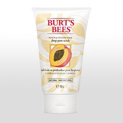 Peach & Willobark Deep Pore Scrub 110g Burt's Bees - Burts Bees Gesichtspeeling