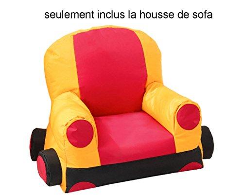 Divano Letto Per Bambino : Quwei divano letto per bambini poltrona pouf auto cartone animato