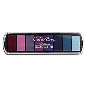 Fluide ColorBox Chalk Paintbox Option tampon encreur 8 couleurs-fleur Pastel