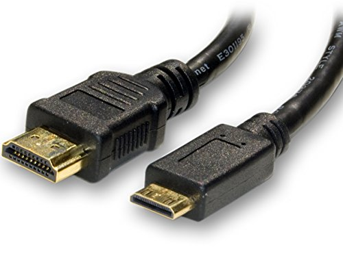 1.5m Long Mini HDMI Type C to HDMI A Cable Lead V1.4 High Speed With Ethernet (Mini HDMI 1.5m)