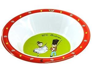 Hans Christian Andersen Bowl Bailarina y soldadito de Plomo Barbo Toys 6242
