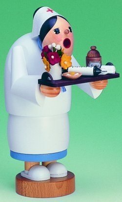 KWO Nurse German Incense Smoker