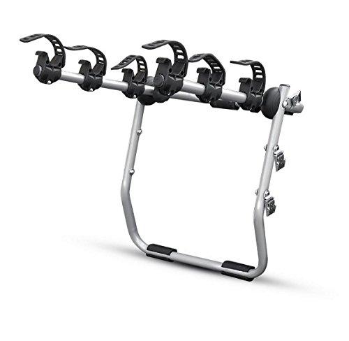 MISTRAL  portabici posteriore per 3 biciclette, fissaggio con cinghie