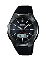 Casio Herren-Armbanduhr XL Wave Ceptor Analog - Digital Quarz Resin WVA-M640B-1AER