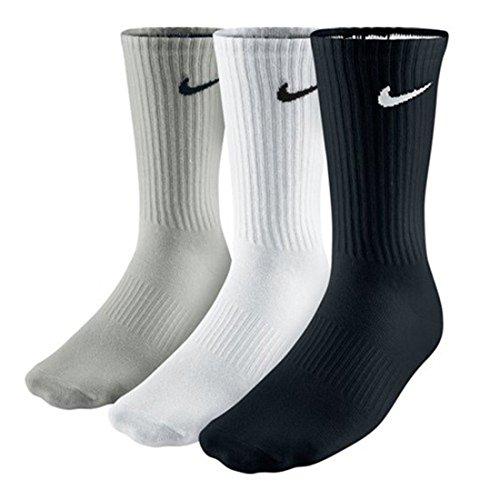 Nike Sportsocken aus Baumwolle, Gepolstert, 3 Paar Größe L Gemischt -
