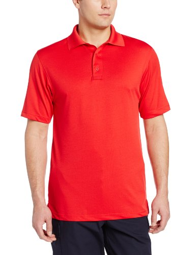 Tru-Spec Performance Herren 24-7Polyester Short Sleeve Polo Shirt, Herren, Range Red, XXX-Large - Gear Performance Tee