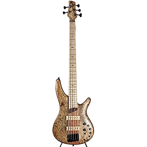 Ibanez sr5smltd Spalted Maple Edizione Limitata 5 String Bass