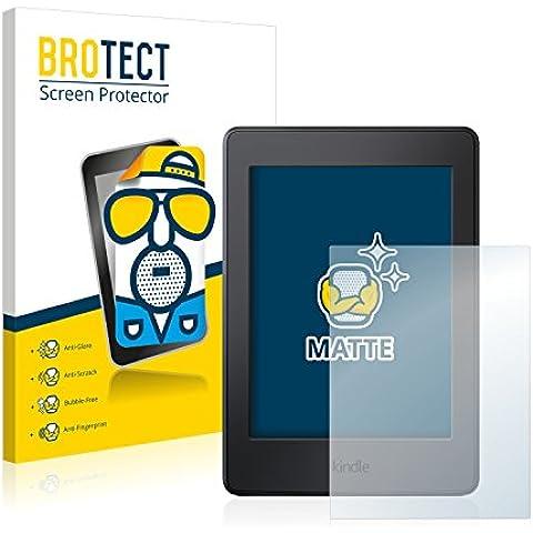 2x BROTECT Matte Protector Pantalla para Amazon Kindle Paperwhite (2015) Protector Mate, Película Antireflejos