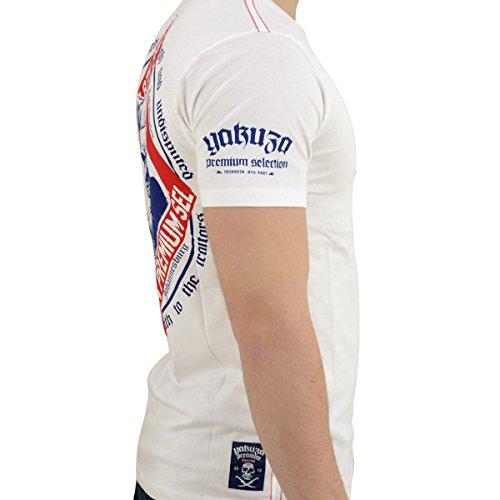 Yakuza Premium Männer T-Shirt Ironskin YPS 2011 naturweiss - schmaler, figurbetonter Schnitt Naturweiss