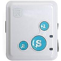 Pulsera localizadora portátil con GPS personal; dispositivo de seguimiento en tiempo real, para niños o ancianos (RF-V16), 0.51 pounds, color azul