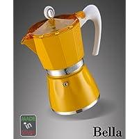 Cafetera Bella 3tazas Amarillo