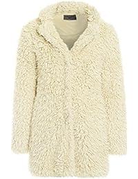 Amazon.co.uk  Faux Fur - Coats   Coats   Jackets  Clothing 89eaf8556