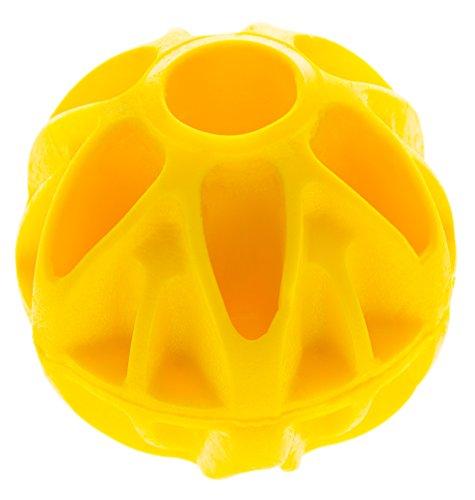 Ungiftig, geruchlos und robust – schadstofffreier Hundeball von BAXTER TOYS (hergestellt in der EU, langlebiges Material, schwimmend, weich und zahnfreundlich, Ball für kleine und große - Weiches Maul Hund