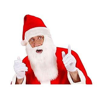 5e8bcee3498 ... Idena 8161496 Gorro de Papá Noel con barba