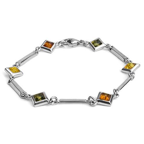 braccialetto-in-argento-sterling-e-ambra-multicolorelunghezza-18cm