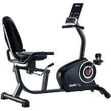 SportPlus SP-RB-9500-iE Bicicleta Estática, Adultos Unisex,, 138