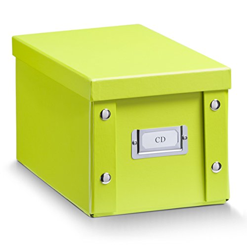 zeller-17802-cd-storage-box-paperboard-16-x-28-x-15-cm-green
