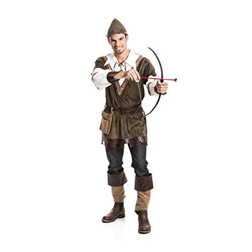 Kostümplanet Robin Hood Kostüm Herren Karnevals-Kostüm Mittelalter Größe ()