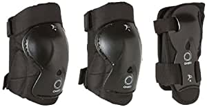 Oxelo Set-3-Protections-Kids- Child Protection, S (Black)