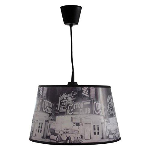 Preisvergleich Produktbild Lampenschirm Flama 30cm schwarz und weiß