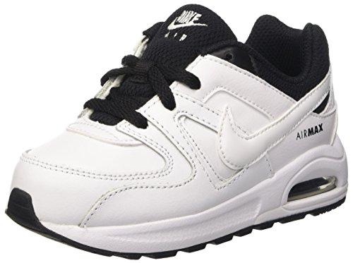 Nike Unisex Baby Air Max Command Flex Ltr TD Lauflernschuhe, Blanco (White...