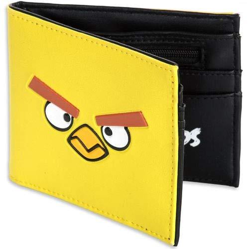Cartera Angry Birds - Cartera para Hombre Amarilla