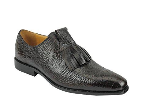 Xposed , Chaussures à lacets homme marron foncé