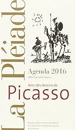 Ne peut être vendu séparément - Agenda Pléiade 2016 - Picasso - Offert uniquement pour l'achat de deux livres La Pléiade* (*voir conditions sur la page de l'opération)
