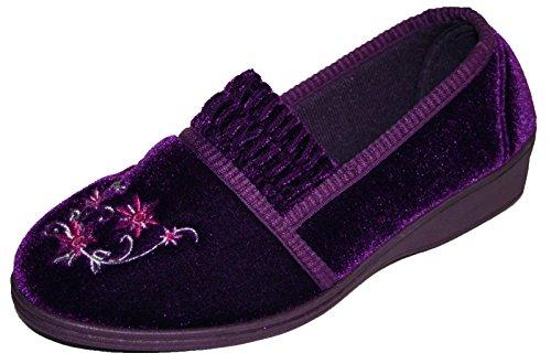 Dunlop Camilla, Chaussons femme Violet - violet